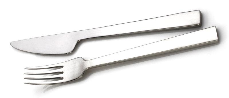 Harmony kniv og gaffel af Erik Bagger