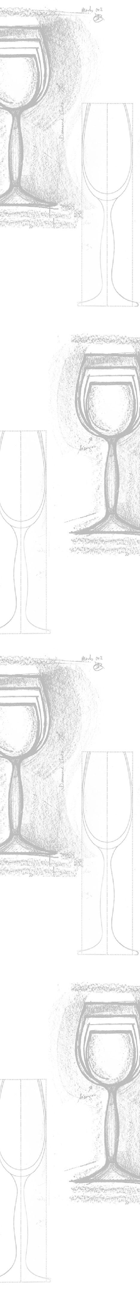 Opera glas skitser af Erik Bagger