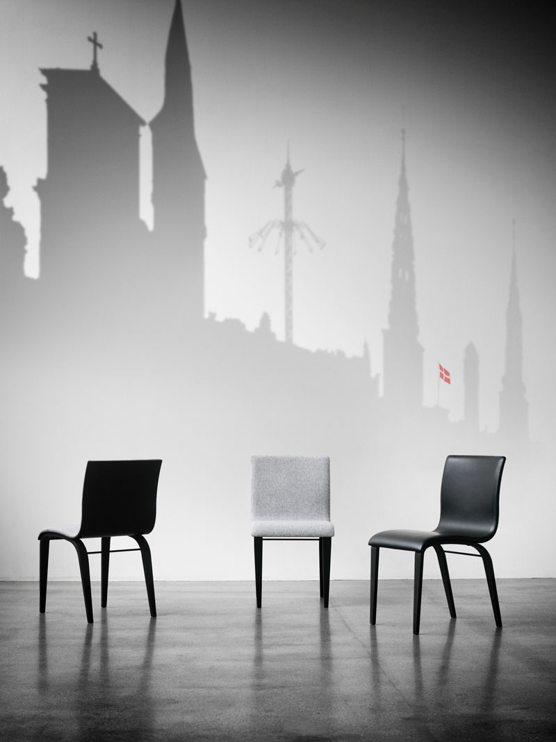 Copenhagen Chairs by Erik Bagger Furniture