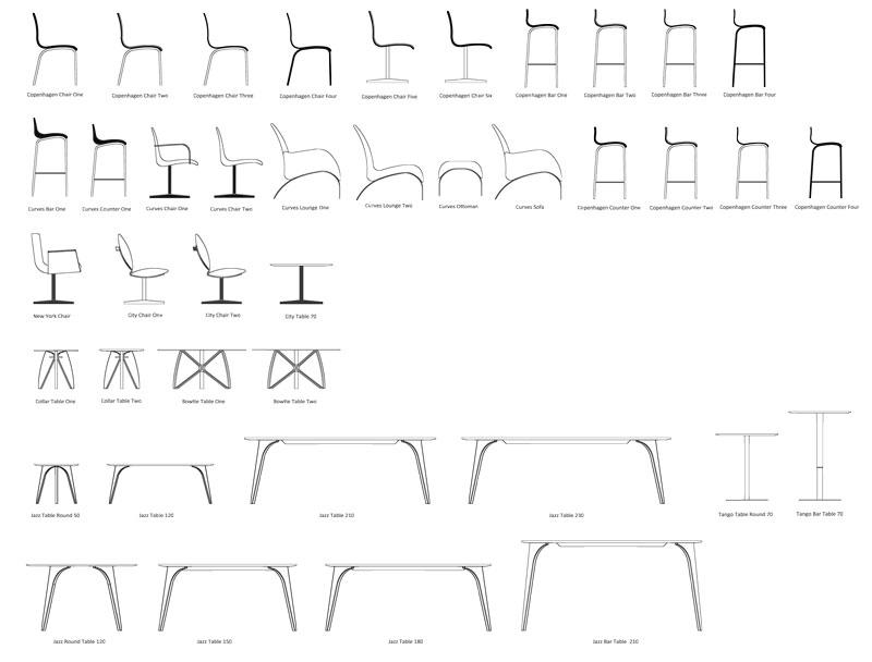 Møbel overblik af Erik Bagger Furniture