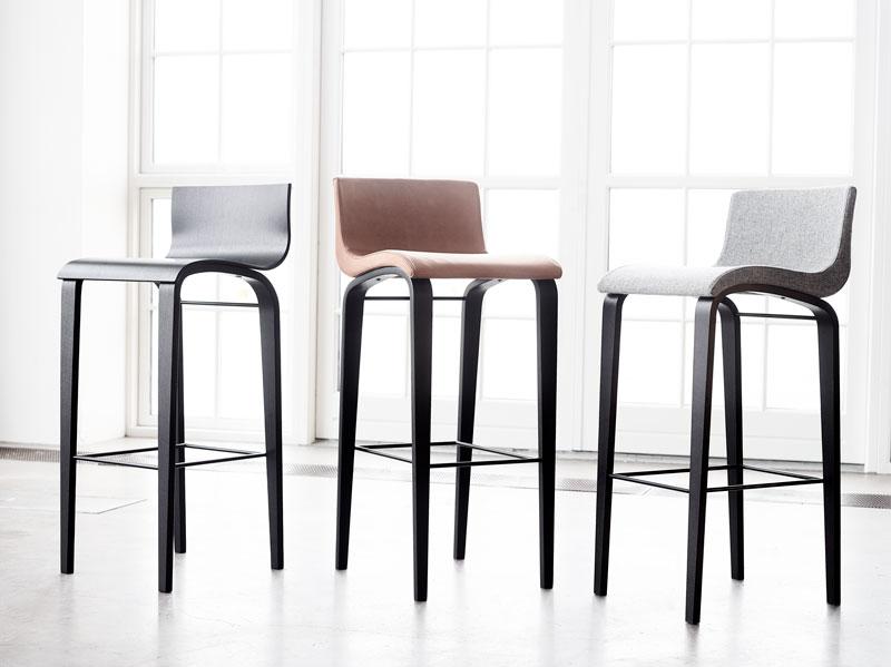 Barstole af Erik Bagger Furniture
