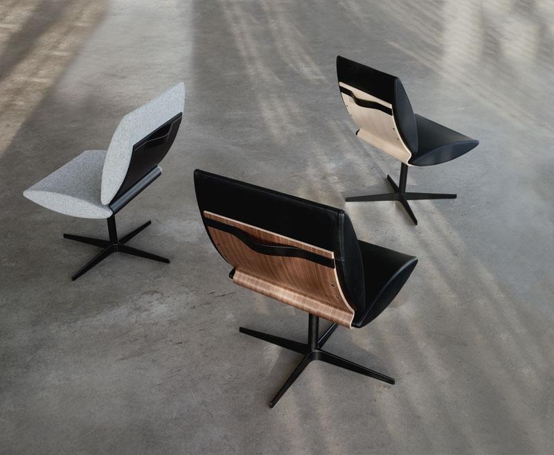 City stole af Erik Bagger Furniture