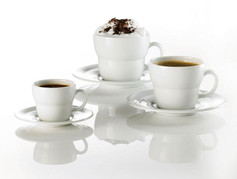 Opera kaffekopper med indhold designet af erik bagger