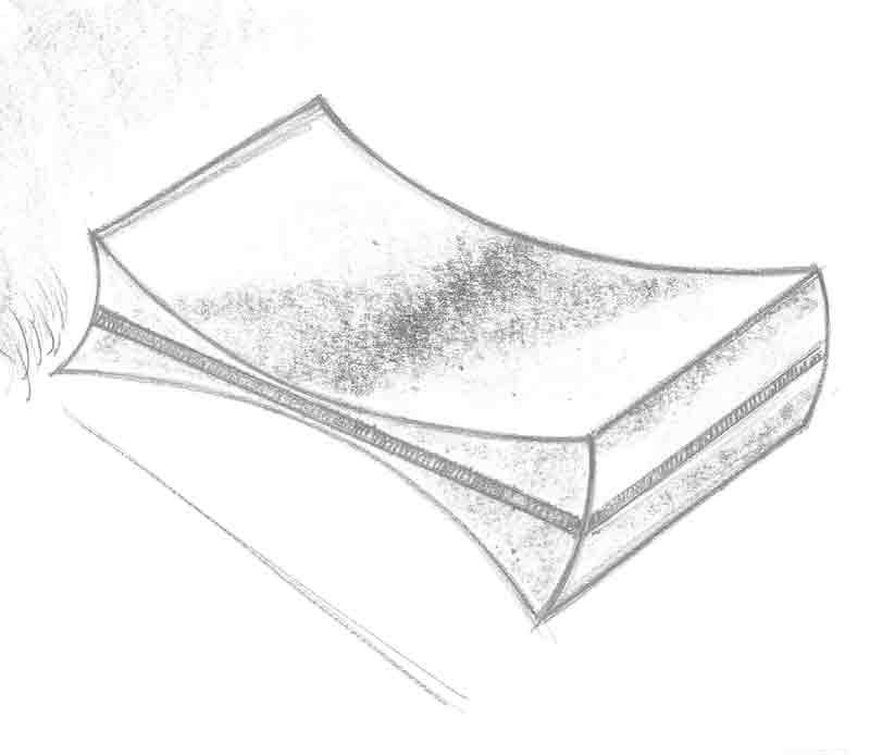 Grand cru isskraber skitse, tegnet af Erik Bagger